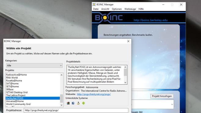 BONIC: PC-Reserven der Wissenschaft leihen ©COMPUTER BILD