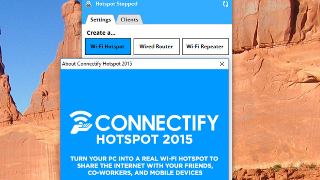 Connectify Hotspot: WLAN für alle Geräte bereitstellen ©COMPUTER BILD