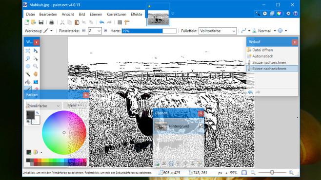 Paint.NET: Bilder mit GPU-Kraft bearbeiten ©COMPUTER BILD