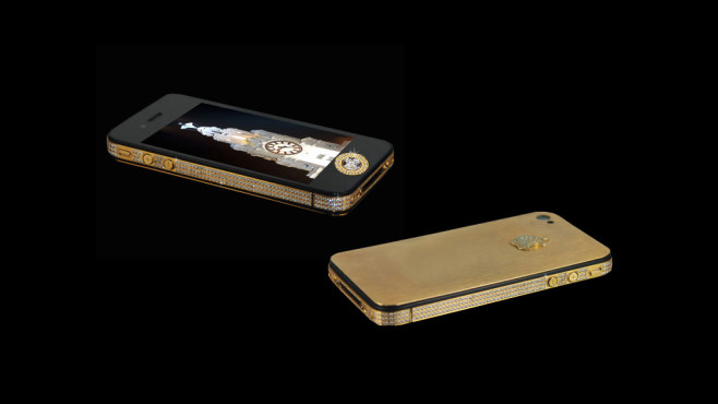 iPhone 4S Elite Gold © Stuart Hughes