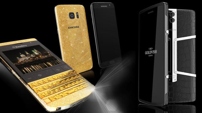 Die teuersten Smartphones der Welt ©Samsung, GOLDVISH, BlackBerry