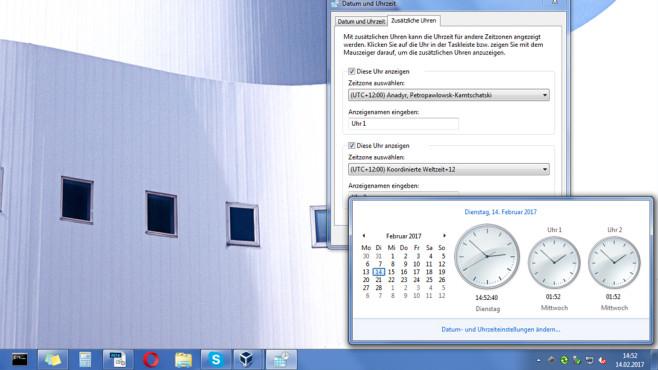 Datum und Uhrzeit ©COMPUTER BILD