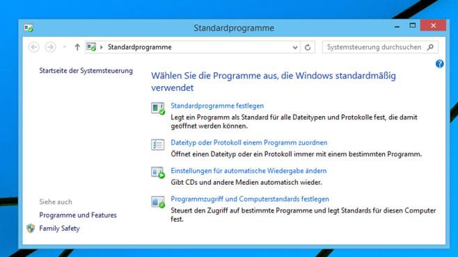 Standardprogramme ©COMPUTER BILD