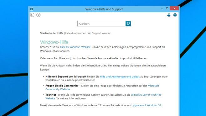 Windows-Hilfe und Support ©COMPUTER BILD