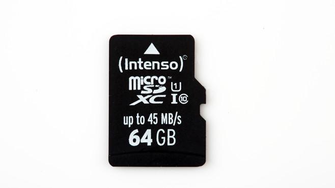 Intenso Premium UHS-I microSDXC 64GB (3423490) ©COMPUTER BILD