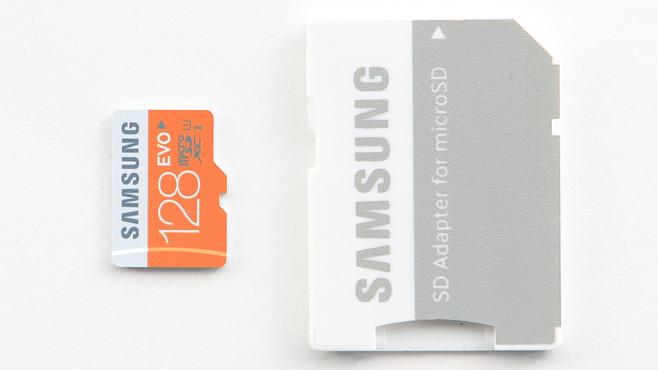 Samsung EVO microSDXC 128GB UHS-I U1 (MB-MP128DA) ©COMPUTER BILD