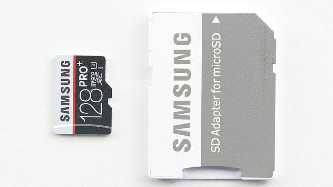 Samsung PRO Plus microSDXC 128GB UHS-I U3 (MB-MD128DA) ©COMPUTER BILD