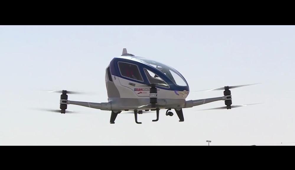 Drohnen Taxi Dubai