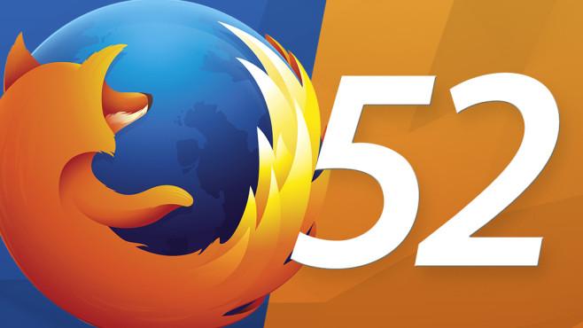 Firefox 52 ©Mozilla