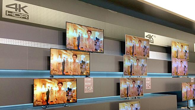 Panasonic-TVs 2017 ©COMPUTER BILD