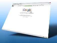 Der große DSL-Geschwindigkeitstest Neu: Die Schnell-Startseite mit Google-Suche und DSL-Speedtest.©Google