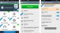 "Haben Sie die App ""ESET Mobile Security"" installiert? © Screenshot ESET"