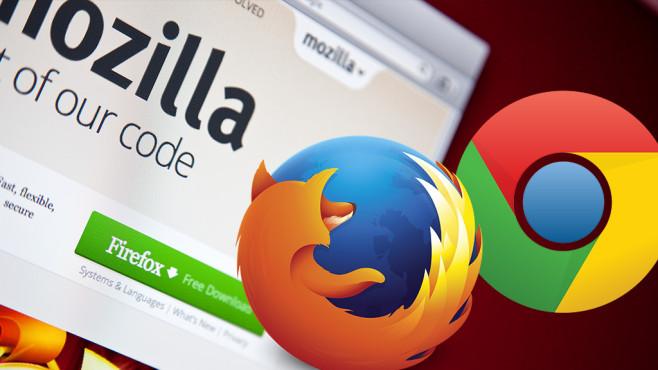 Firefox zu Chrome verwandeln ©Mozilla, Google, ©istock.com/LeoPatrizi