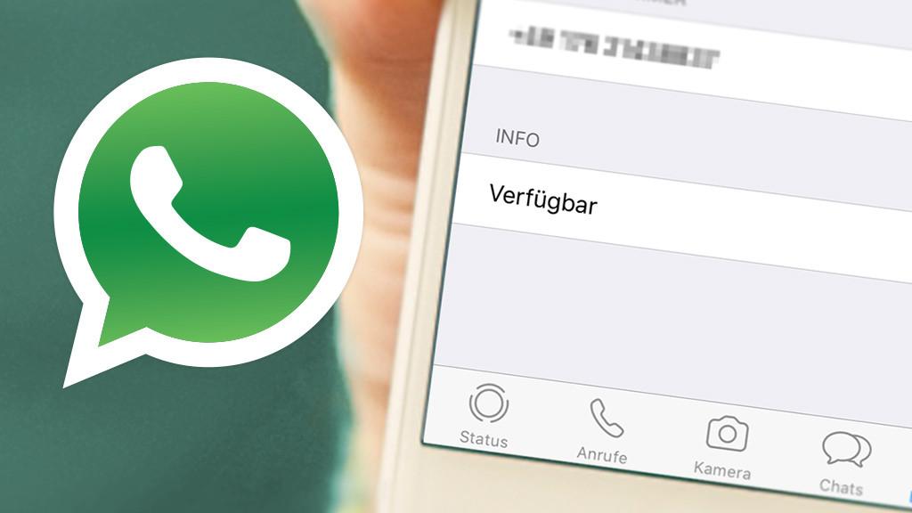nicht online anzeigen whatsap