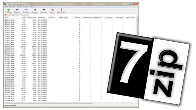 Platz 24: 7-Zip (Vormonat: Platz 26) ©COMPUTER BILD