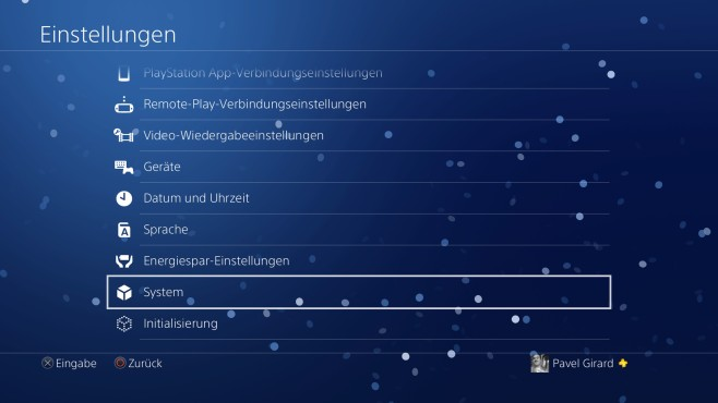 PS4 Pro Boost Modus ©Sony