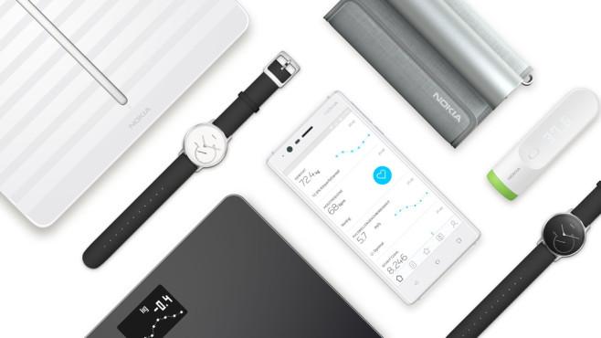 Neue Nokia Wearables ©Nokia