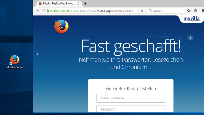 Fuchs: Firefox ©COMPUTER BILD
