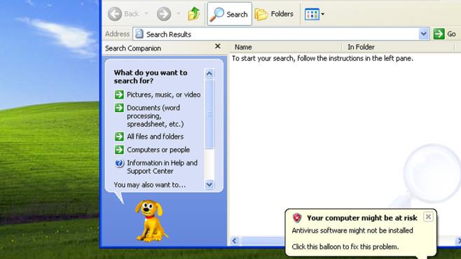 Hund: XP-Modus für Windows 7 ©COMPUTER BILD