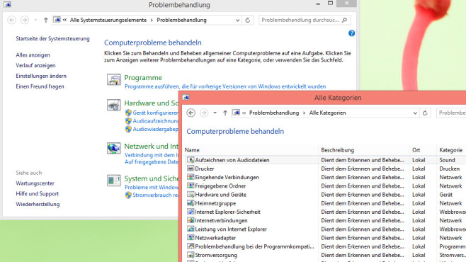 Windows-Problembehandlung © COMPUTER BILD