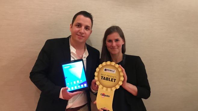 Best Product Award Tablet: Samsungs Galaxy Tab S3 © COMPUTER BILD