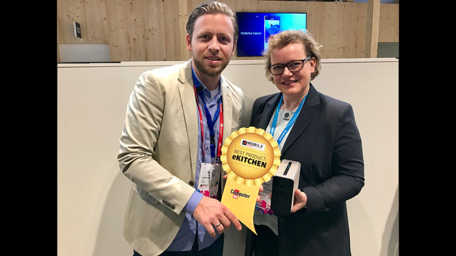 Best Product Award ekitchen: Sony Xperia Touch © COMPUTER BILD