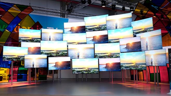 Samsung Fernseher 2017 ©COMPUTER BILD