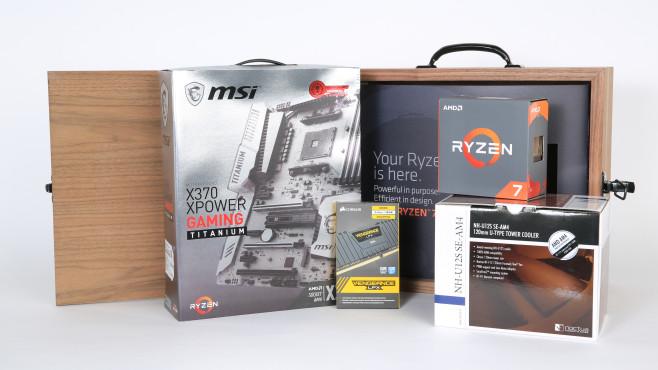 Test-Kit von AMD ©COMPUTER BILD