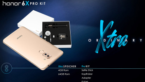 Honor 6X Pro Kit ©Huawei