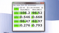 CrystalDiskMark: Geschwindigkeiten abklopfen ©COMPUTER BILD