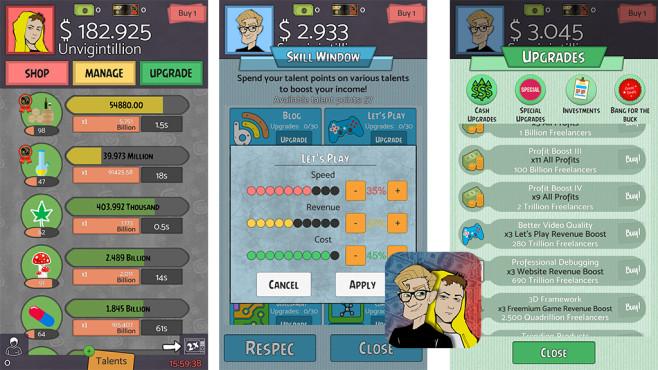 Geeks vs Gangsters ©The Idle Game Studio
