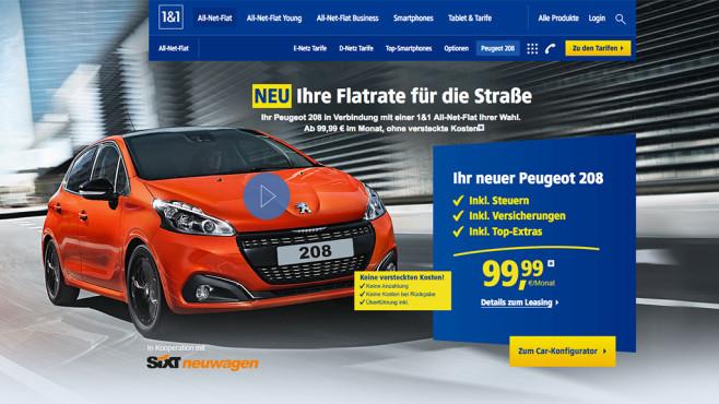 1&1 Auto und Mobilfunk ©1&1.de