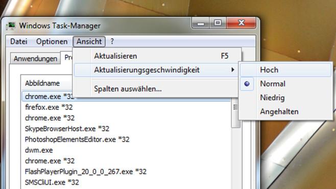 Task-Manager-Aktualisierung ©COMPUTER BILD