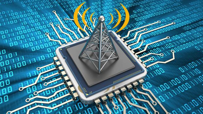 WLAN-Durchsatz im Energiesparmodus ©Fotolia--Maxim_Kazmin-communication chip