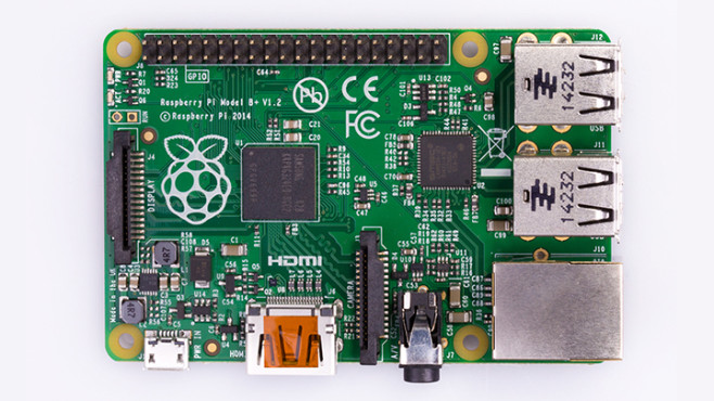 Raspberry Pi 1 Model B+ © Raspberry Pi Foundation