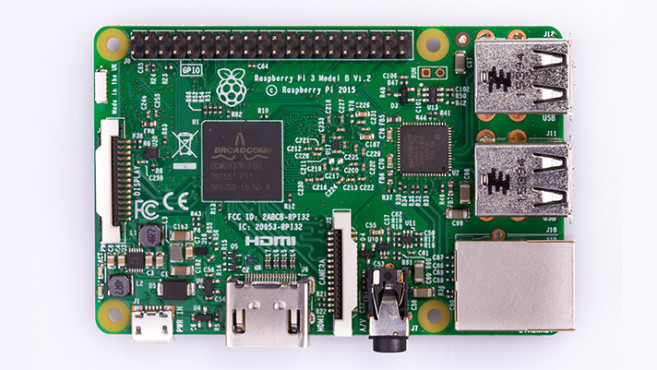 Raspberry Pi 3 Model B © Raspberry Pi Foundation