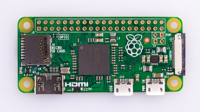 Raspberry Pi Zero W © Raspberry Pi Foundation