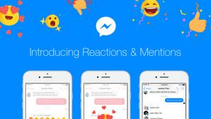 Facebook Messenger: Reaction Emojis ©Facebook