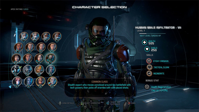 Mass Effect – Andromeda: Multiplayer © EA