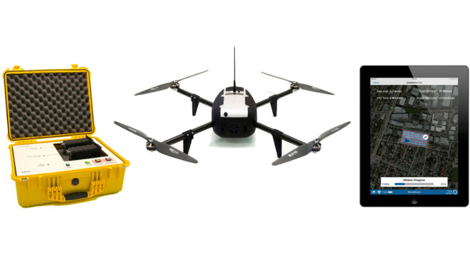 Kespry: Drohne ©Kespry