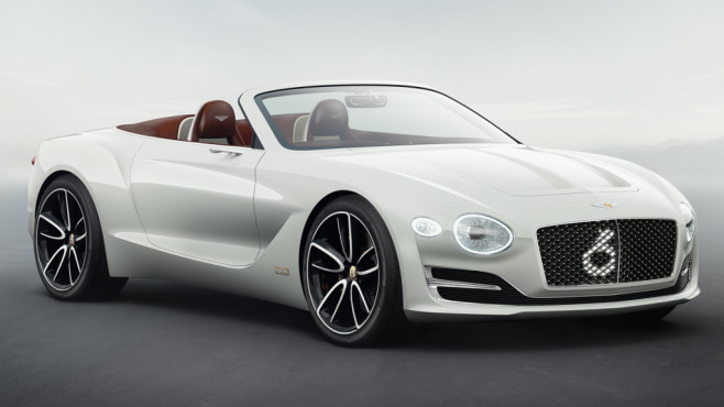Bentley EXP 12 Speed 6e Concept © Bentley