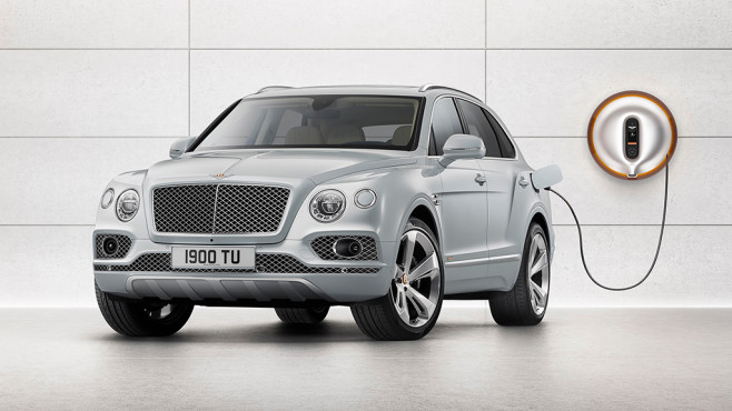 Bentley Bentayga Hybrid © Bentley