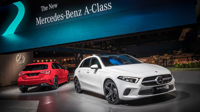 Mercedes-Benz A-Klasse © Mercedes-Benz