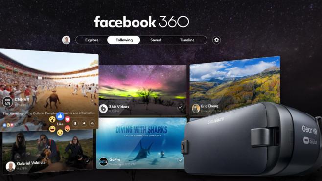 Facebook 360: App ©Facebook