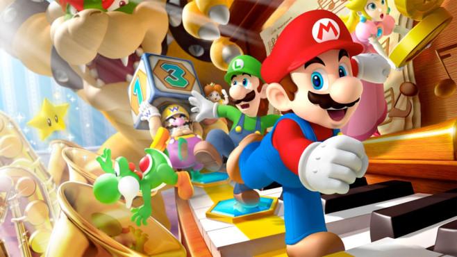 Super Mario Tag ©Nintendo