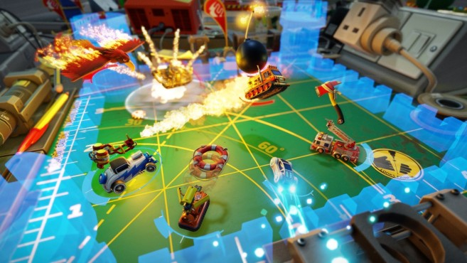 Micro Machines World Series © Codemasters