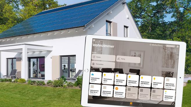Weberhaus Apple HomeKit ©Weberhaus