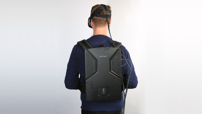 Zotac VR Go Backpack PC © COMPUTER BILD