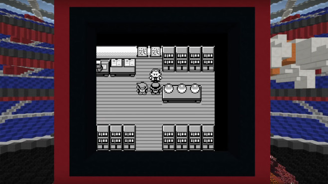 Pokémon Red: Minecraft ©Nintendo / MrSquishyYT