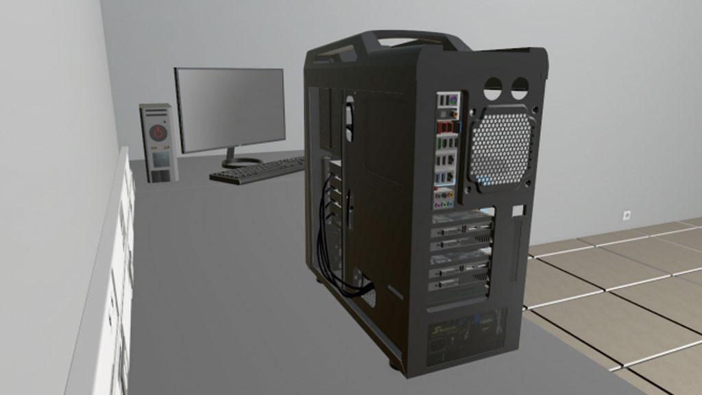 pc building simulator so viel spa macht der pc bau. Black Bedroom Furniture Sets. Home Design Ideas